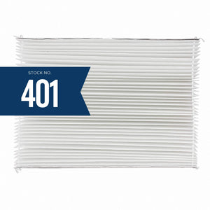 Aprilaire 401 Replacement Filter for Aprilaire Whole House Air Purifier Model: 2400, Space Gard 2400, MERV 10 (Pack of 4)