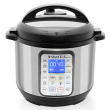Load image into Gallery viewer, Instant Pot Smart Wifi 6 Quart Multi-use Electric Pressure, Slow, Rice Cooker, Yogurt, Cake Maker, Sauté, Steamer and Warmer, Silver