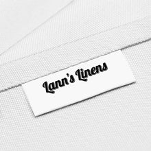 "Load image into Gallery viewer, Lann's Linens - 10 Premium 90"" x 132"" Tablecloths for Wedding/Banquet/Restaurant - Rectangular Polyester Fabric Table Cloths - White"