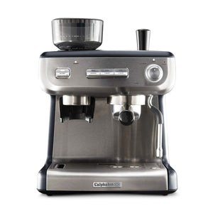 Calphalon BVCLECMPBM1 Temp iQ Espresso Machine with Grinder and Steam Wand, Stainless