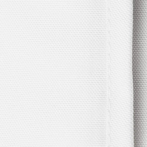 "Lann's Linens - 10 Premium 90"" x 132"" Tablecloths for Wedding/Banquet/Restaurant - Rectangular Polyester Fabric Table Cloths - White"