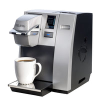 Load image into Gallery viewer, Keurig K155 Office Pro Commercial Coffee Maker, Single Serve K-Cup Pod Coffee Brewer, Silver