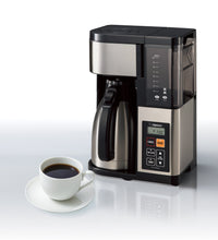 Load image into Gallery viewer, Zojirushi EC-YTC100XB Coffee Maker, 10 Cup, Stainless Steel/Black