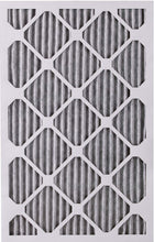 Load image into Gallery viewer, Nordic Pure 16x25x1 MERV 12 Pleated Plus Carbon AC Furnace Air Filters, 16x25x1PM12C, 6 Piece
