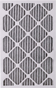 Nordic Pure 16x25x1 MERV 12 Pleated Plus Carbon AC Furnace Air Filters, 16x25x1PM12C, 6 Piece