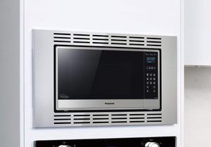 "Panasonic 30"" Microwave Trim Kit for Panasonic 1.6 cu ft Microwave Ovens - NN-TK732SS (Stainless Steel)"
