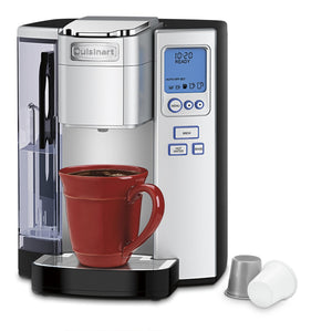 Cuisinart SS-10 Premium Single-Serve Coffeemaker, Silver