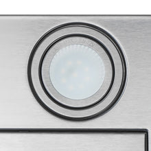 Load image into Gallery viewer, AKDY 30 in. Convertible Kitchen Wall Mount Range Hood in Stainless Steel with Tempered Glass, Touch Control and Carbon Filters