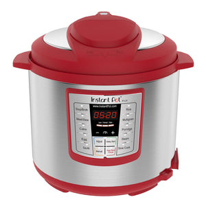 Instant Pot Red Lux 60 Multi-Use Programmable Pressure Cooker, 6 Quart