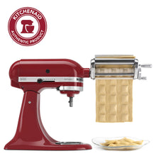 "Load image into Gallery viewer, KitchenAid KRAV Ravioli Maker, 1"", Red"