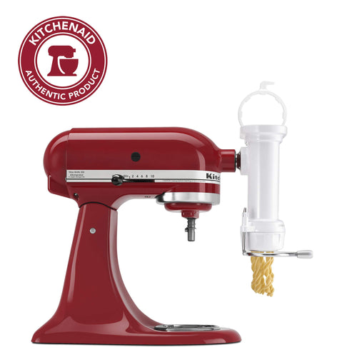 KitchenAid KPEXTA Stand-Mixer Pasta-Extruder Attachment With 6 Plates and Housing