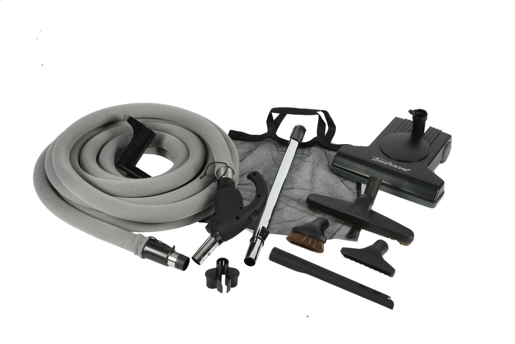 Cen-Tec Systems Turbocat Central Vacuum Kit with Universal Connect Hose