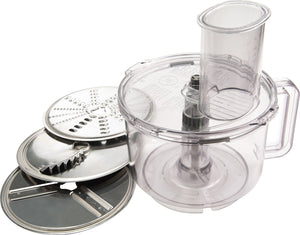 Universal Slicer/Shredder with Three Discs