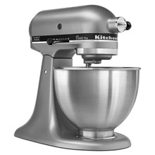 Load image into Gallery viewer, KitchenAid KSM75SL Classic Plus 4.5-Qt. Tilt-Head Stand Mixer, Silver