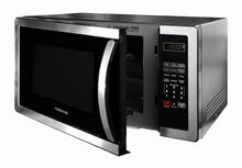 Load image into Gallery viewer, Farberware FMO11AHTBKB 1.1 Cu. Ft. Stainless Steel Countertop Microwave Oven With 6 Cooking Programs, LED Lighting, 1000 Watts