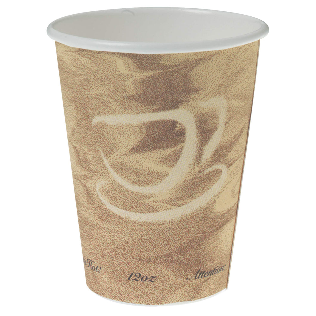 Solo 412MSN-0029 12 oz Mistique SSP Paper Hot Cup (Case of 1000)