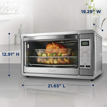 Load image into Gallery viewer, Oster Extra Large Digital Countertop Convection Oven, Stainless Steel (TSSTTVDGXL-SHP)
