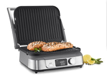 Load image into Gallery viewer, Cuisinart GR-5B Electric griddler, GR-5B, Stainless Steel
