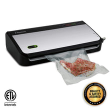 Load image into Gallery viewer, FoodSaver FM2435 Vacuum Sealer Machine with Bonus Handheld Sealer and Starter Kit | Safety Certified | Silver