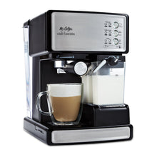 Load image into Gallery viewer, Mr. Coffee Espresso and Cappuccino Maker | Café Barista , Silver
