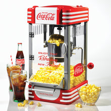 Load image into Gallery viewer, Nostalgia RKP630COKE Coca-Cola 2.5-Ounce Kettle Popcorn Maker