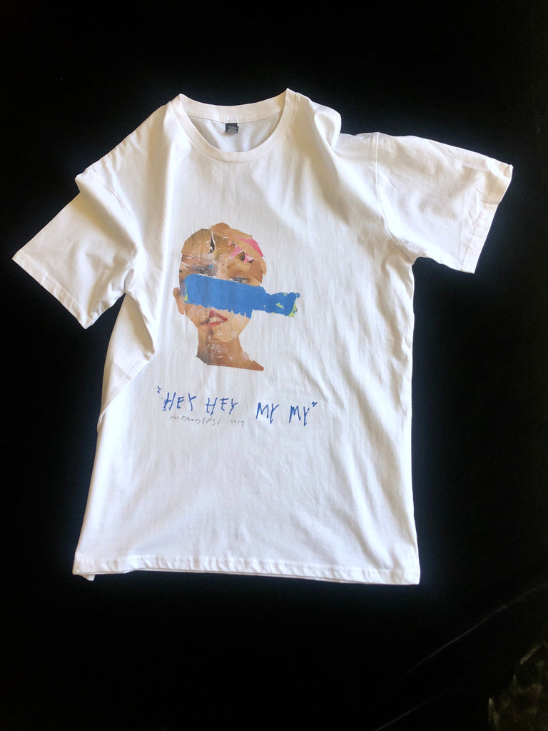 Philip James Frost T-shirt - Hey Hey My My