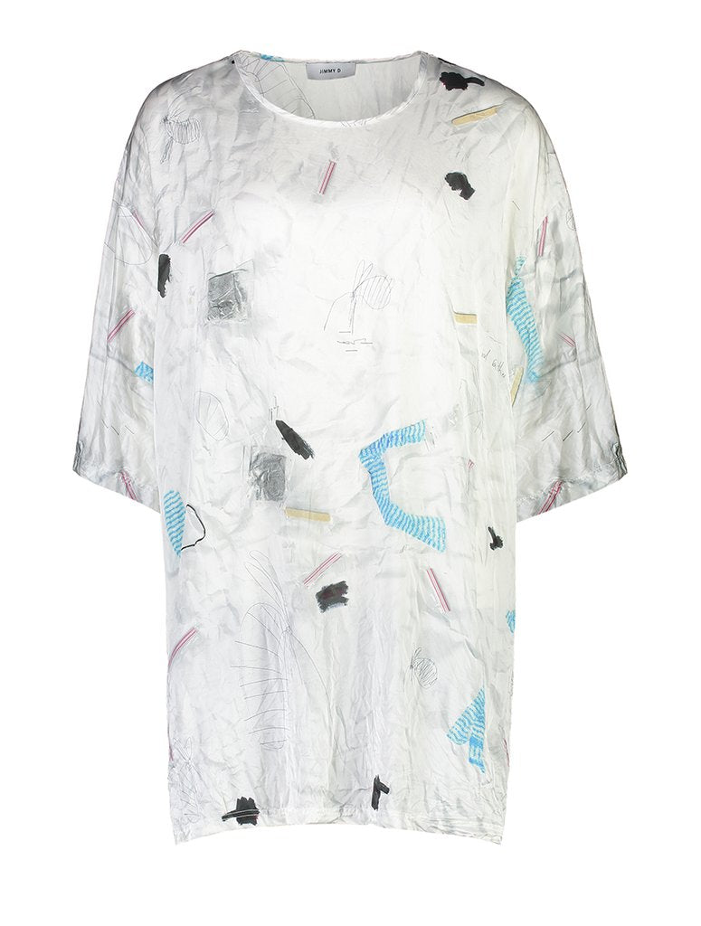 Kaboom Silk Tee - Prints