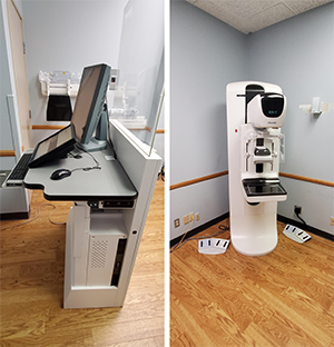Installed a Hologic Dimensions 3D System in a San Diego Clinic