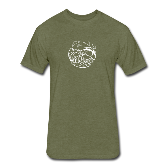 Why Climb - heather military green