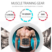 Load image into Gallery viewer, EMS Wireless Muscle Stimulator For Toning Abs and Arms