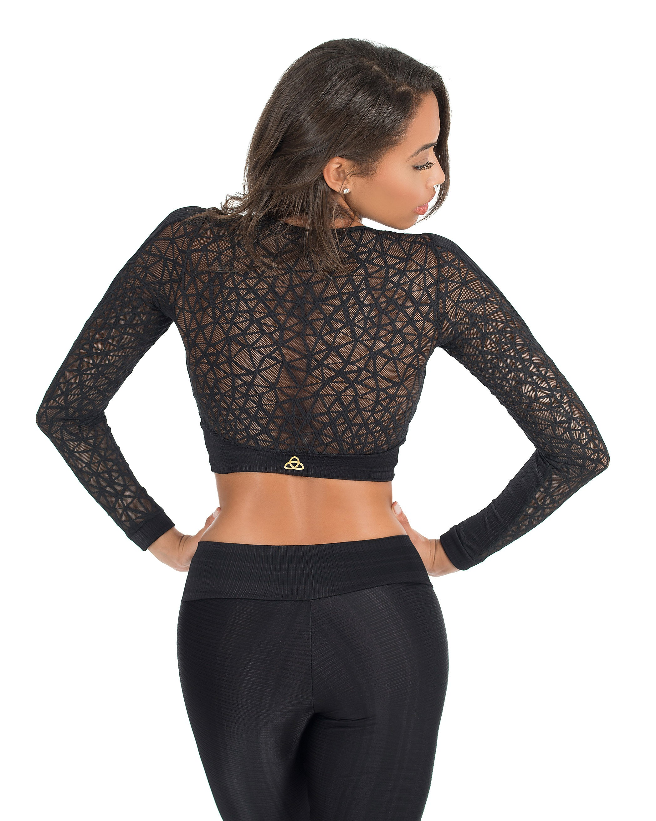 Fatale Cropped Top - AVESSA