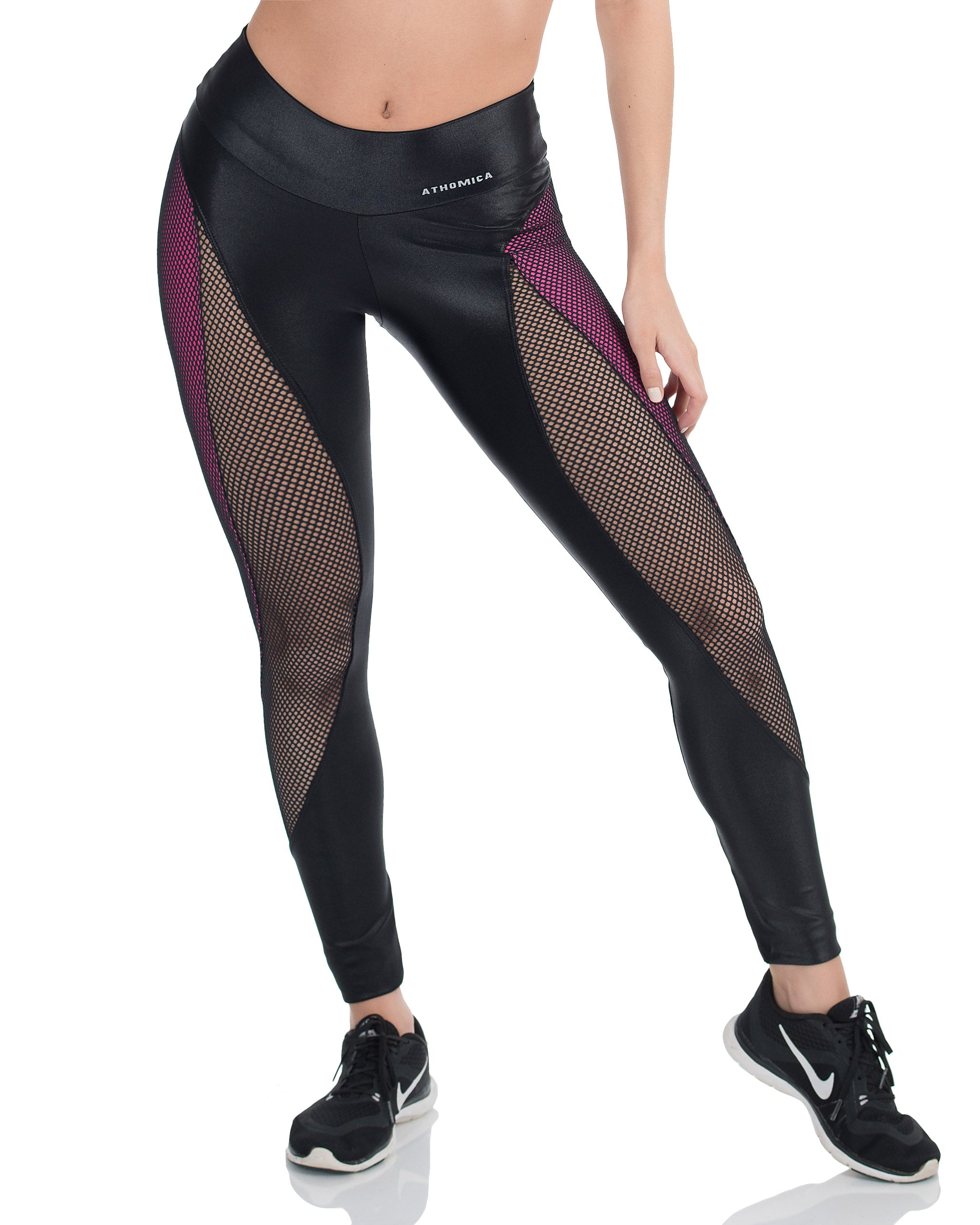 Pink Cirre and Mash Legging - AVESSA