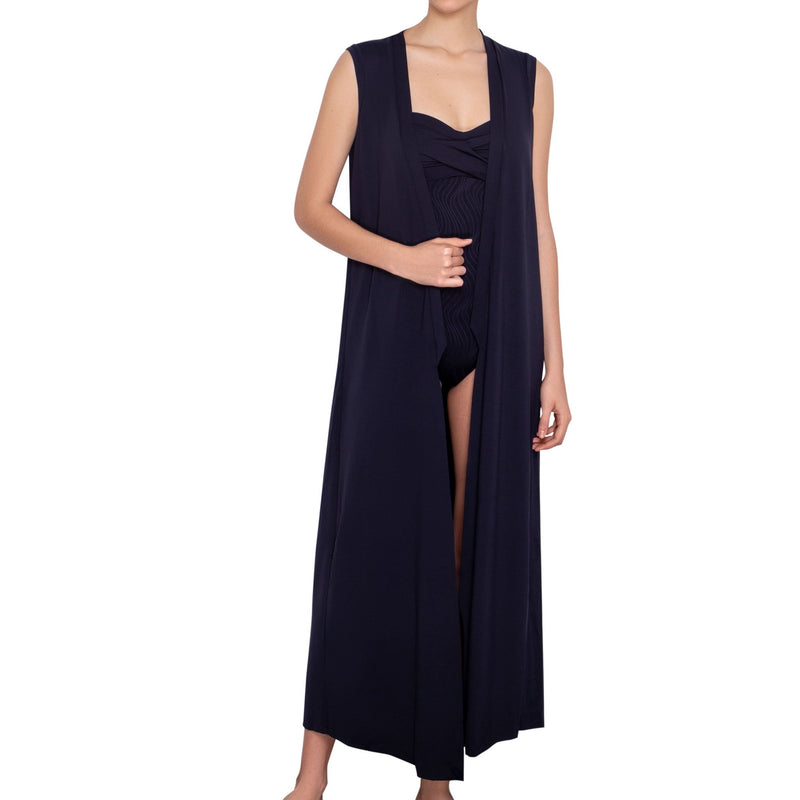 Juliette Sleeveless Kimono Cover-up