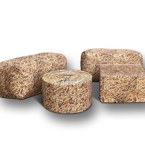 Hay Bale Seatings