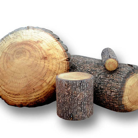 Stump Furniture & Tree Stump Pillows