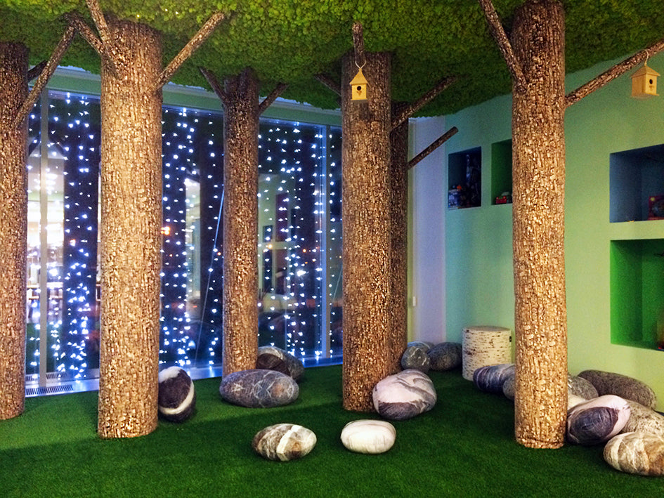 Urban Garden's project with MeroWings: Moscow wellness club Sanctuary
