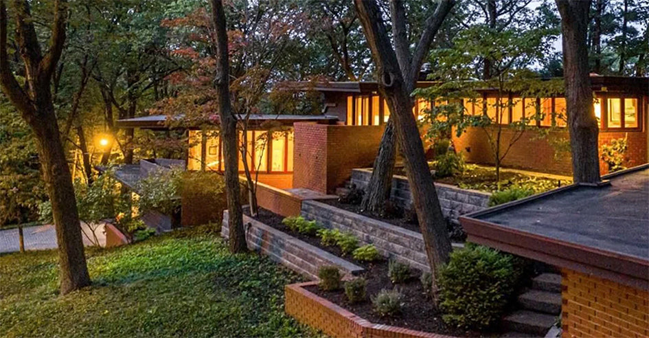 One of Frank Lloyd Wright's House Projects