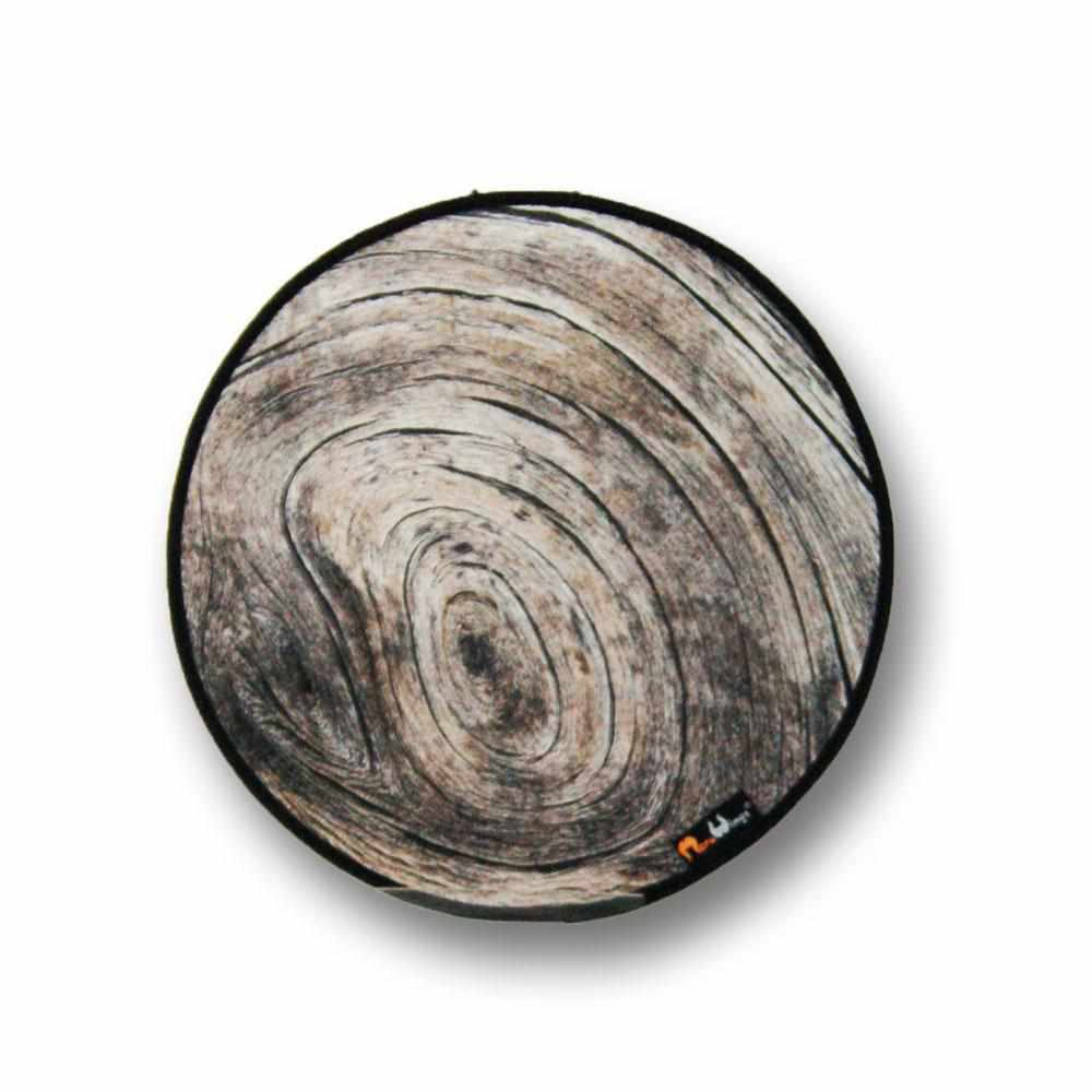 Ash Annual Ring Placemat - Round