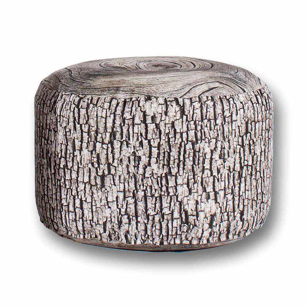 Ash Stump Pouf Outdoor