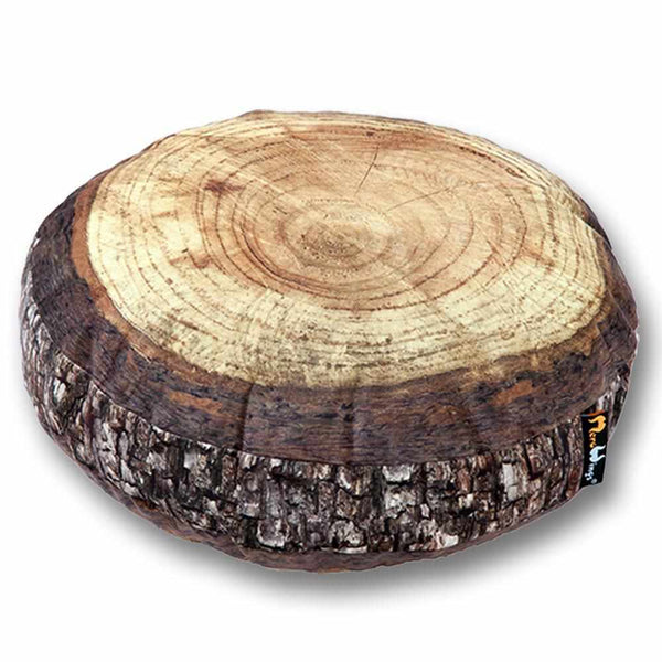 Forest Annual Ring Cushion - Ø 80 cm