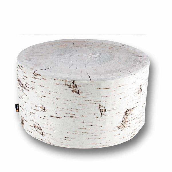 Baumstumpf Hocker Birch