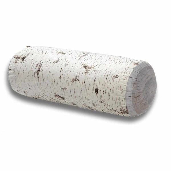 Birch Jumbo Tree Log Floor Cushion