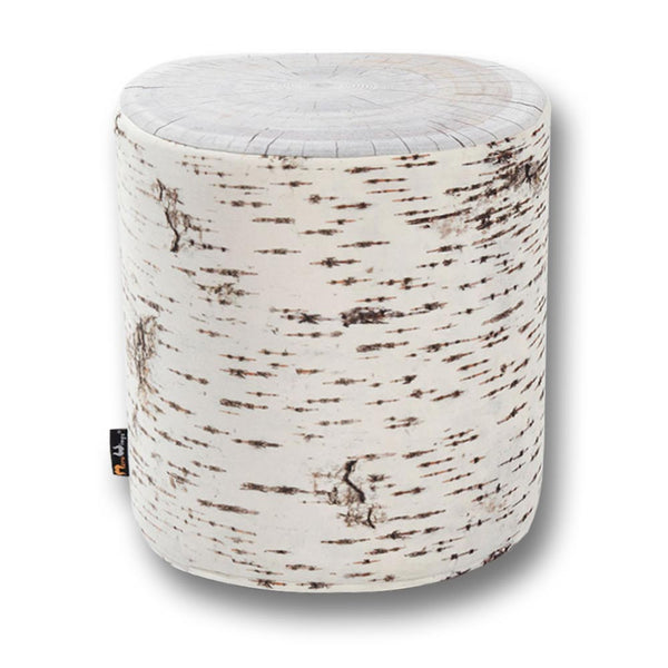 Birch Tree Seat Ottoman Outdoor DF