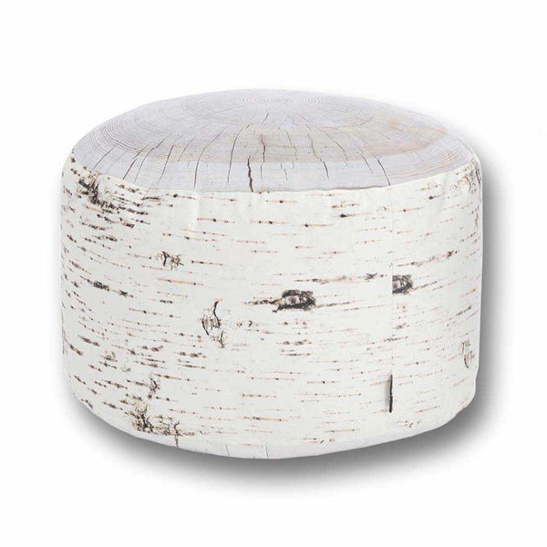Birch Stump Pouf