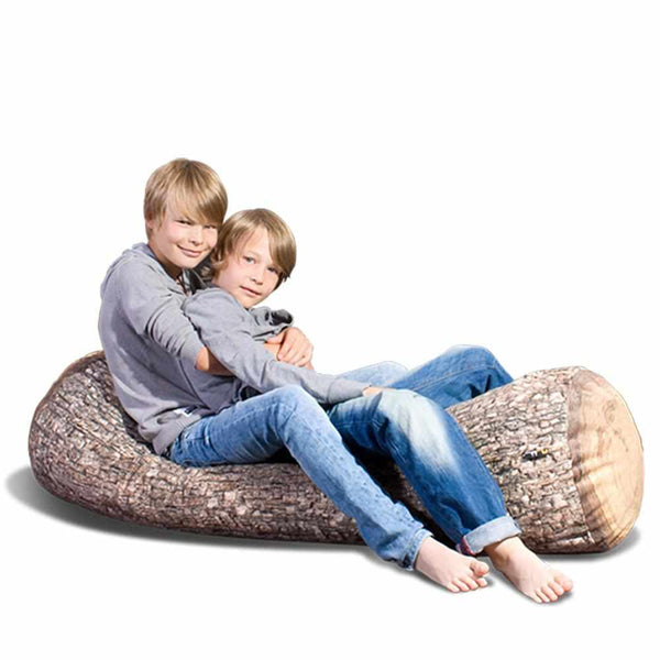 Forest Jumbo Tree Log Floor Cushion