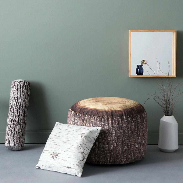 Forest Stump Pouf