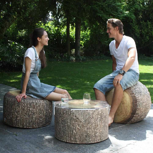 Forest Tree Ottoman Outdoor
