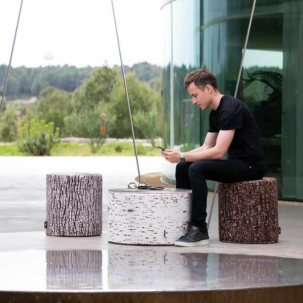 Forest Tree Seat Ottoman Outdoor