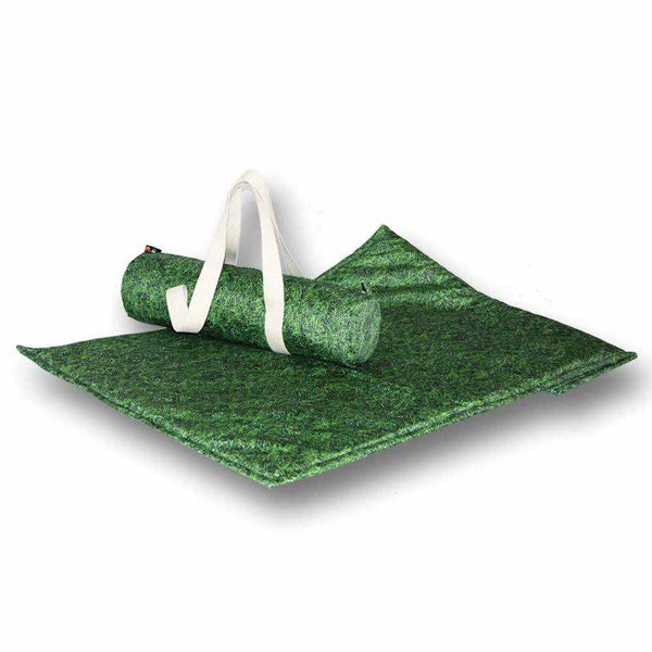 Grass Log Bag & Outdoor Blanket Double