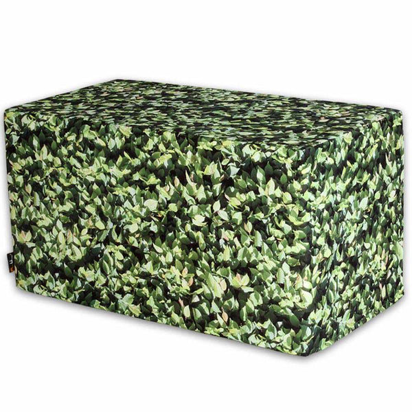 Hornbeam Square Bench Ottoman Outdoor